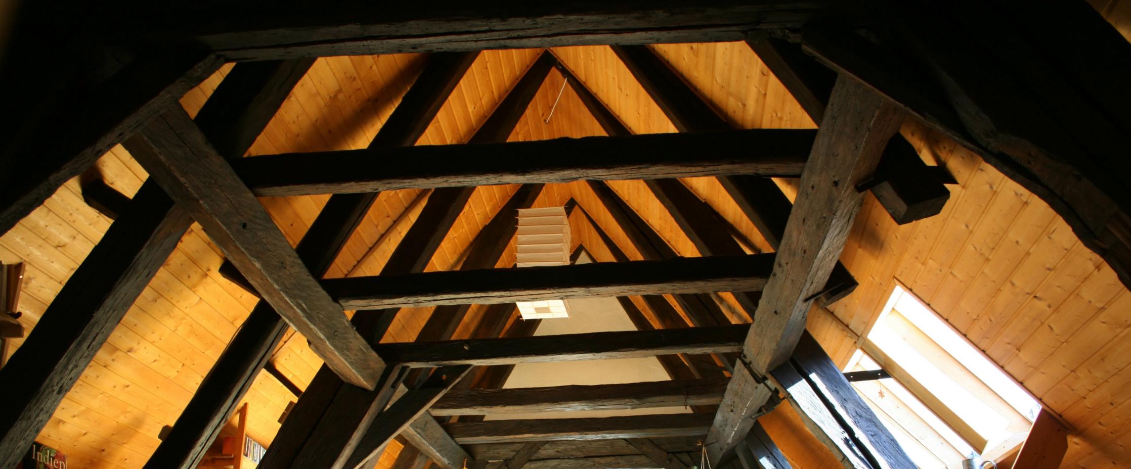 dubové krovy